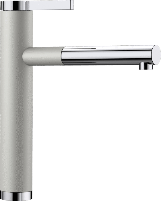 BLANCO LINEE-S 520745 Pearl grey Silgranit Pull-Out Single lever High pressure tap