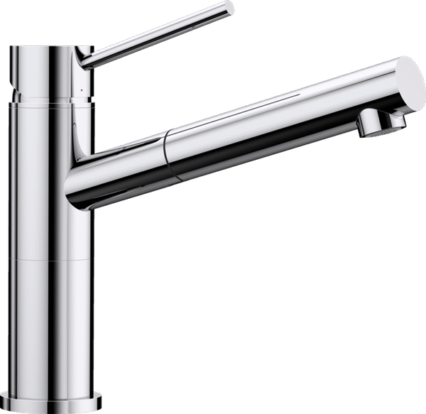 BLANCO ALTA-S-F Compact - 518413 Pull-Out Chrome Kitchen Tap- ideal in front of windows