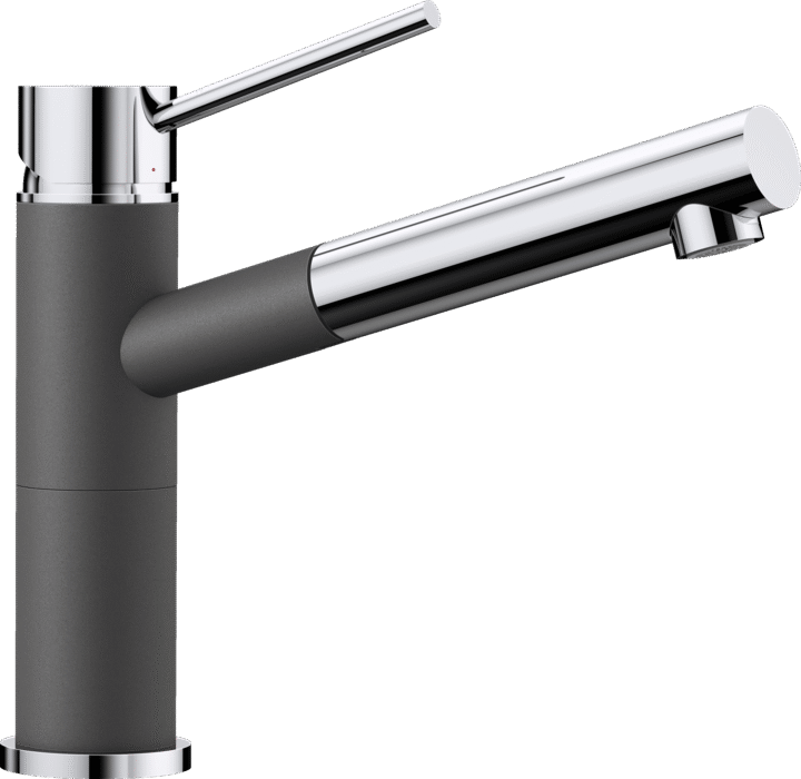 BLANCO ALTA-S COMPACT 518809 Rock grey SILGRANIT-LOOK Kitchen Tap