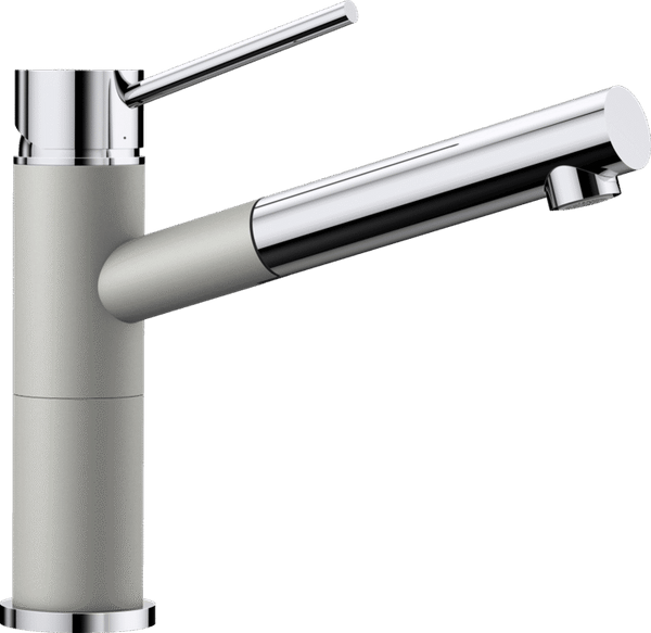 BLANCO ALTA-S COMPACT 520730 Pearl grey SILGRANIT-LOOK Kitchen Tap