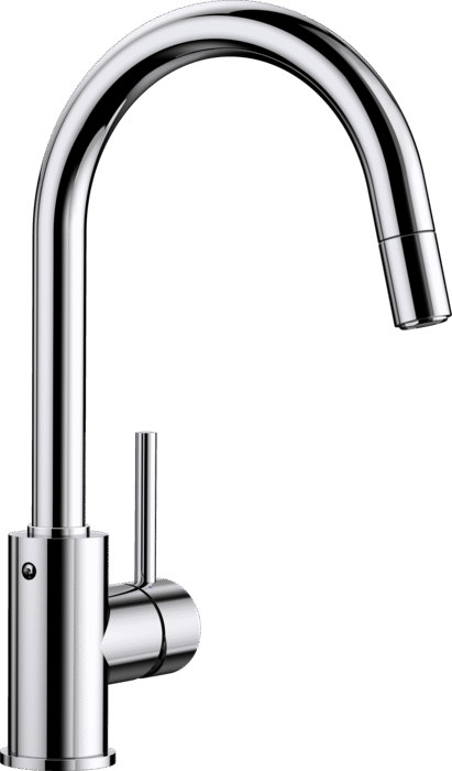 BLANCO MIDA-S - 521454 Chrome Pull-Out Kitchen Tap