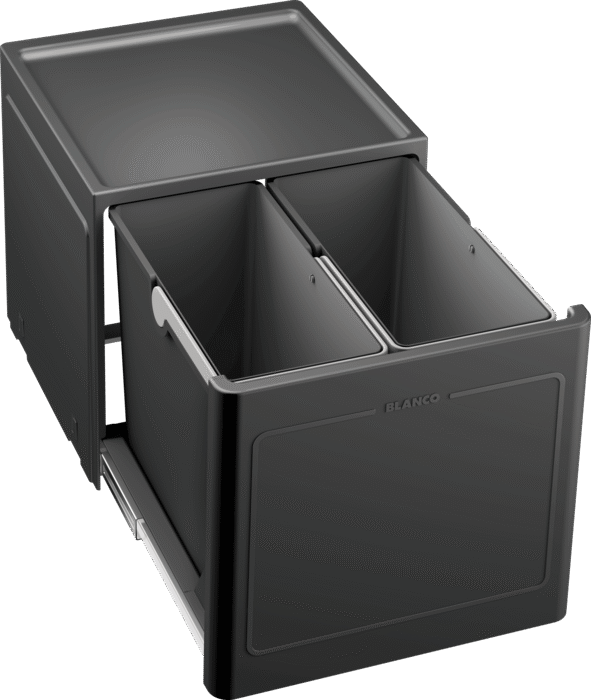 BLANCO BOTTON PRO 45/2 AUTOMATIC - 517468 Waste Sorting Bins