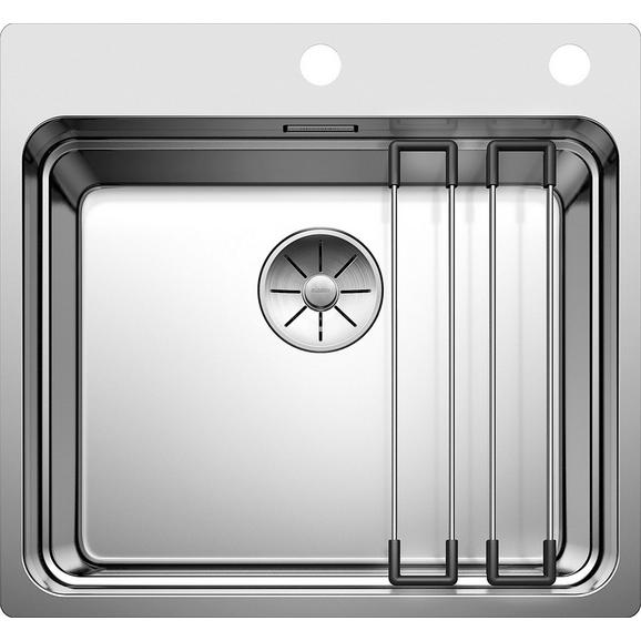 BLANCO ETAGON 500-IF/A 521748 Stainless steel Kitchen Sink+Rails