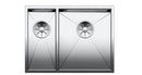 BLANCO ZEROX 340/180-U 521614 Polished steel Undermount Kitchen Sink