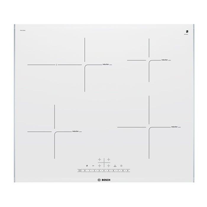 BOSCH PIF672FB1E White Glass Induction Kitchen Hob 60cm!!