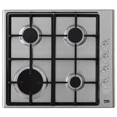 BEKO HIZG64122SX 60cm Built-in Stainless steel Kitchen Gas Hob