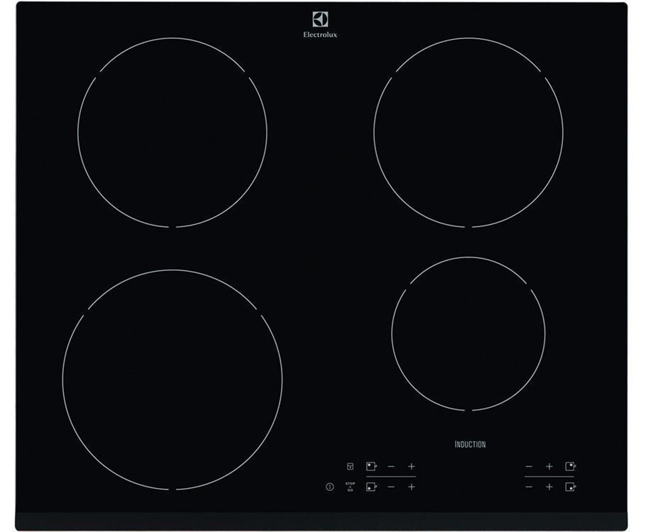 ELECTROLUX EHH16340FK- Built In Black Glass Kitchen INDUCTION Hob