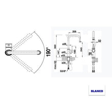 Load image into Gallery viewer, BLANCO LIVIA-S CHROME 521288 Pull-Out Kitchen Tap