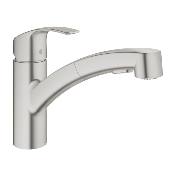 Grohe MINTA -  30305DC0 Single-lever Pull-Out Kitchen tap in Supersteel with Spray function