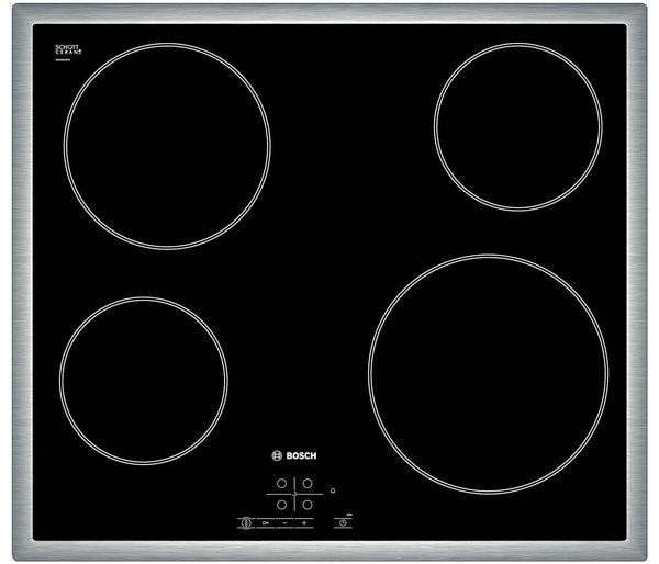 Bosch PKE645B17E- Built-in Electric Black Ceramic Kitchen Hob