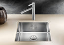 Blanco CLARON 500-U  - 521577 Stainless Steel Undermount Kitchen Sink with InFino Drain system