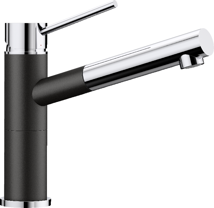 BLANCO ALTA-S COMPACT 526161 Black SILGRANIT-LOOK Kitchen Tap
