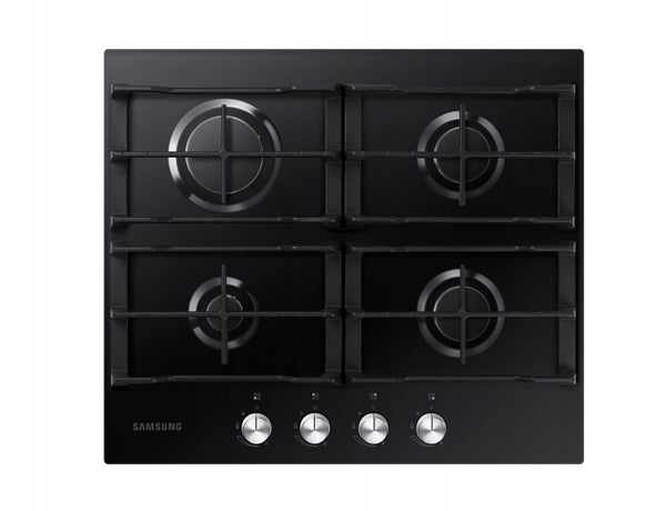 SAMSUNG NA64H3010AK  Built-in Black Glass Kitchen Gas Hob