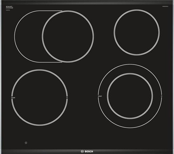 BOSCH PKN675DP1D Serie 8 - 60 cm Electric Ceramic Kitchen hob