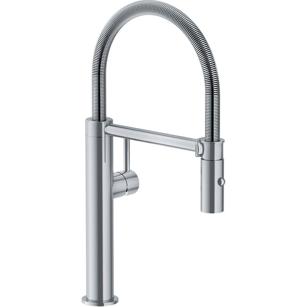FRANKE PESCARA L SEMIPRO KITCHEN TAP STAINLESS STEEL SPRAY FUNCTION