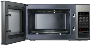 SAMSUNG GE83X Microwave+Grill Black Glass Mirror 23 L Ceramic Inside 800W