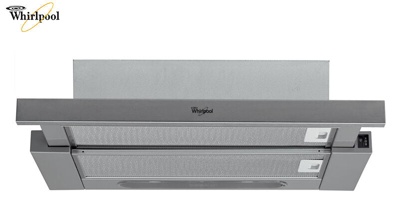 WHIRLPOOL AKR 5390 IX wall mounted TELESCOPIC Stainless steel COOKER HOOD!!!