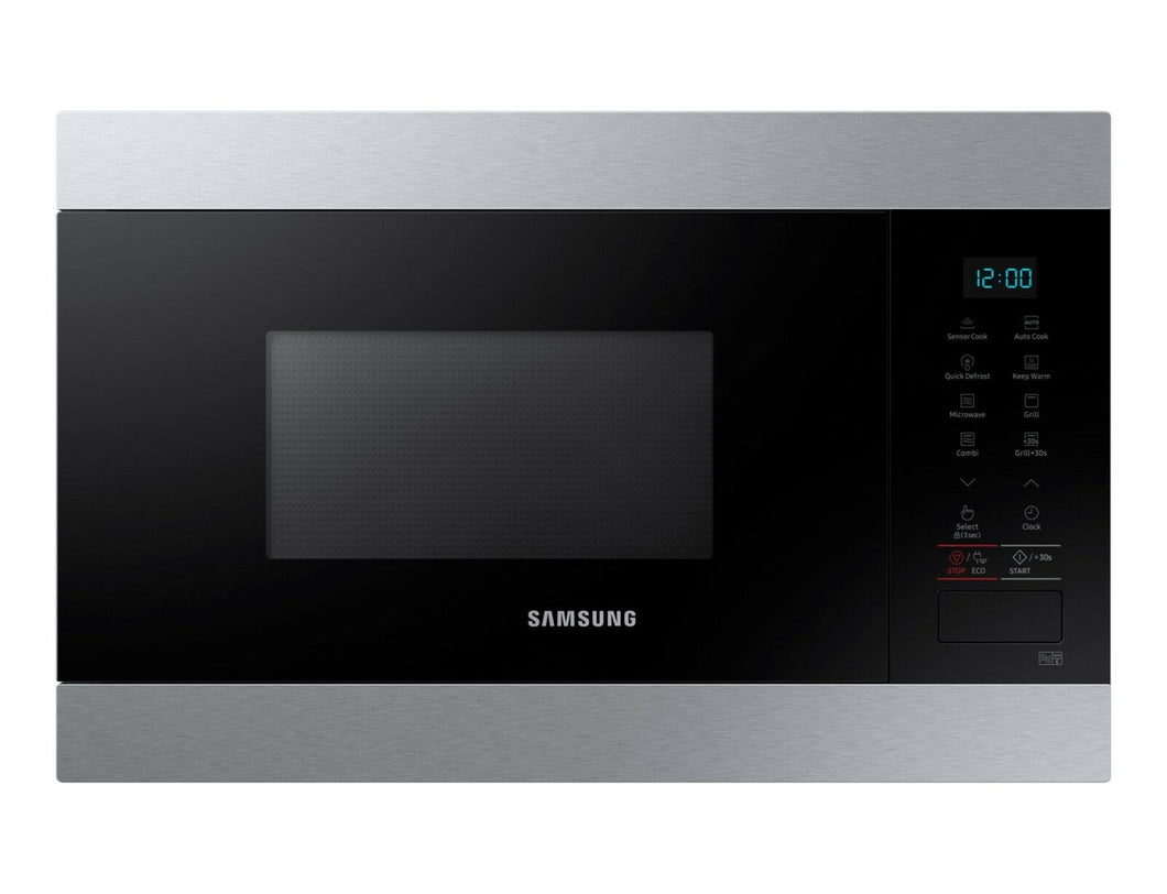 SAMSUNG MG22M8074AT Built-In Stainless steel Microwave + Grill 22L, 1100W