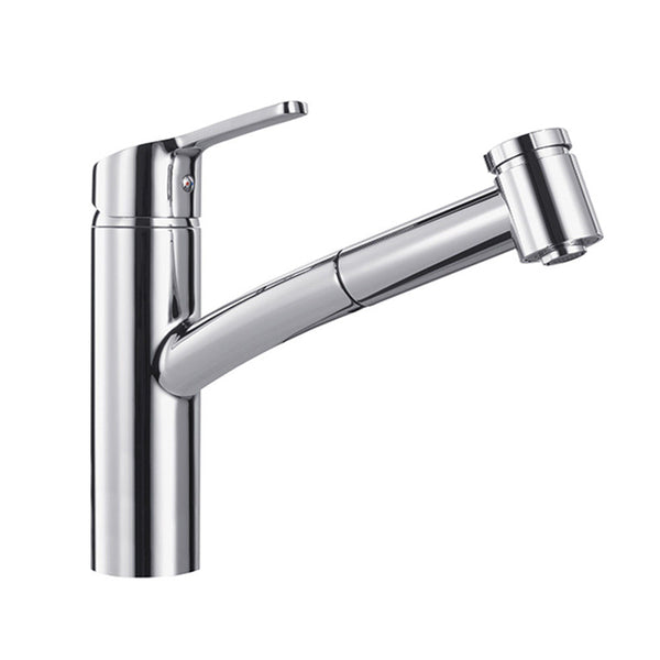 FRANKE SMART CHROME Pull-Out Spray Kitchen Tap Single Lever