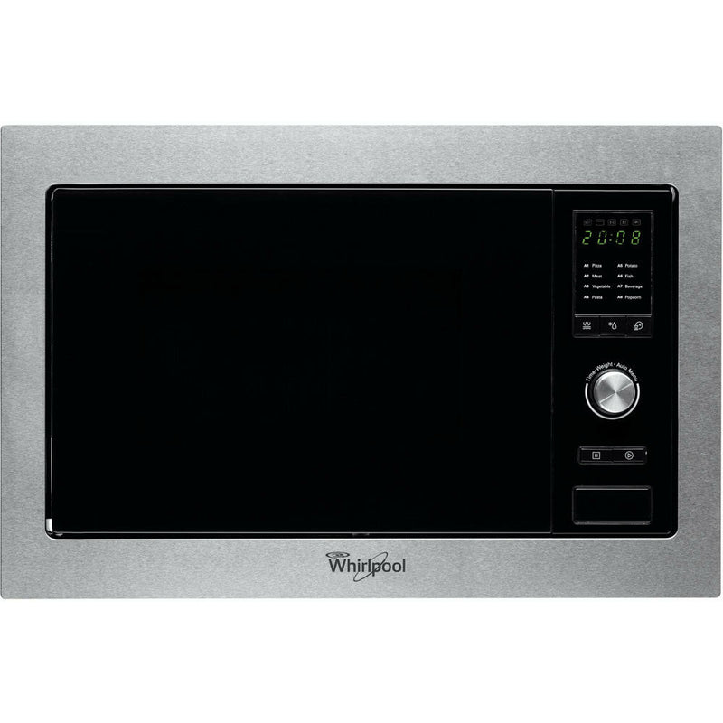 WHIRLPOOL AMW 160/IX Built-In Stainless steel Microwave + Grill 25L, 1000W