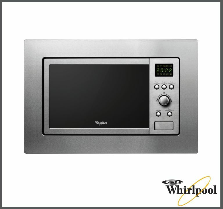 Whirlpool AMW140/IX Built-in Kitchen Microwave & Grill 20L ,800-1000 W