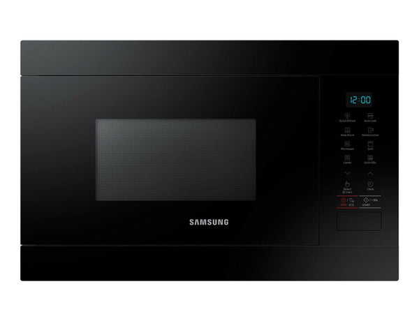 SAMSUNG MG22M8054AK  Built-In Black Microwave with Grill 22L, 1100W