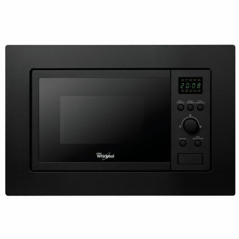 WHIRLPOOL AMW140NB Built-In Black Kitchen Microwave & Grill, 20L, 800-1000 W