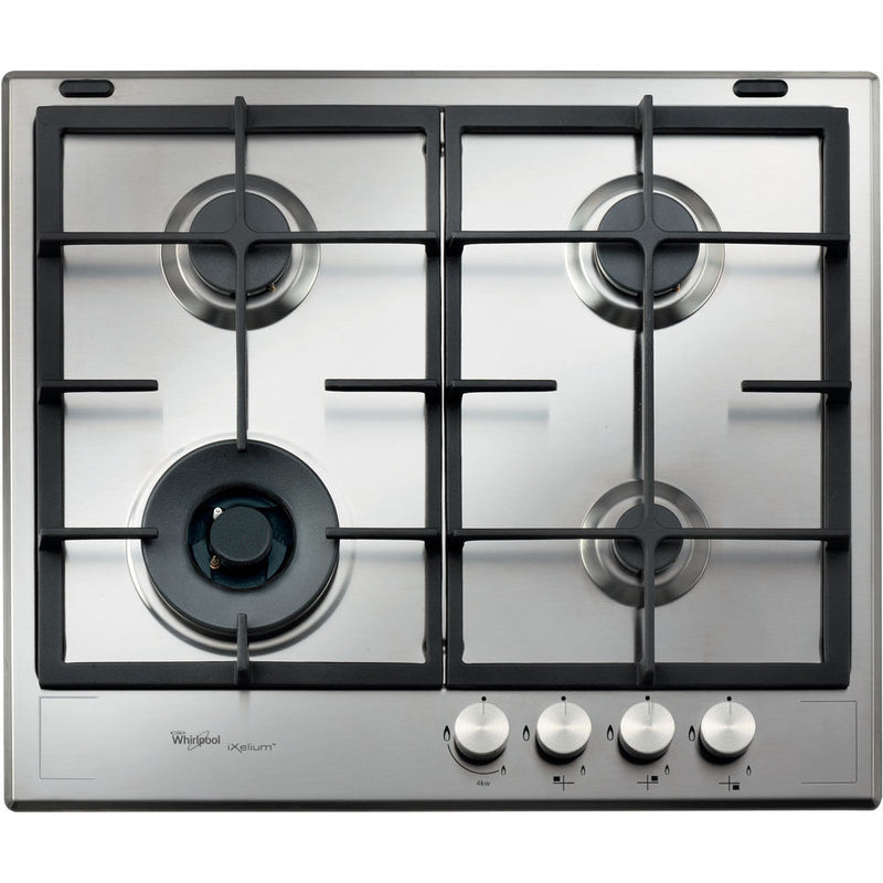 WHIRLPOOL AKF 6422/IXL Built In Stainless Steel Kitchen Gas Hob