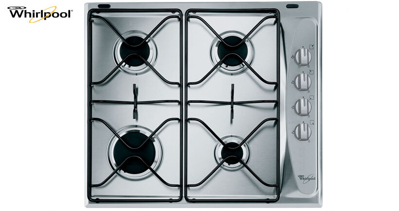 Whirlpool AKM 268 IX 60cm Built-in Stainless steel Kitchen Gas Hob