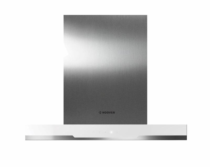 HOOVER HDSV685W- 60cm White glass/Stainless steel Wall-mounted COOKER HOOD