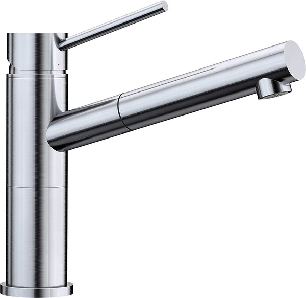 BLANCO ALTA-S Compact - 515123 Pull-Out Metallic Stainless steel Kitchen Tap