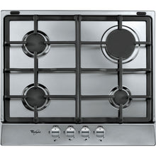Load image into Gallery viewer, WHIRLPOOL AKR 361 IX 60cm Stainless steel Gas Kitchen Hob