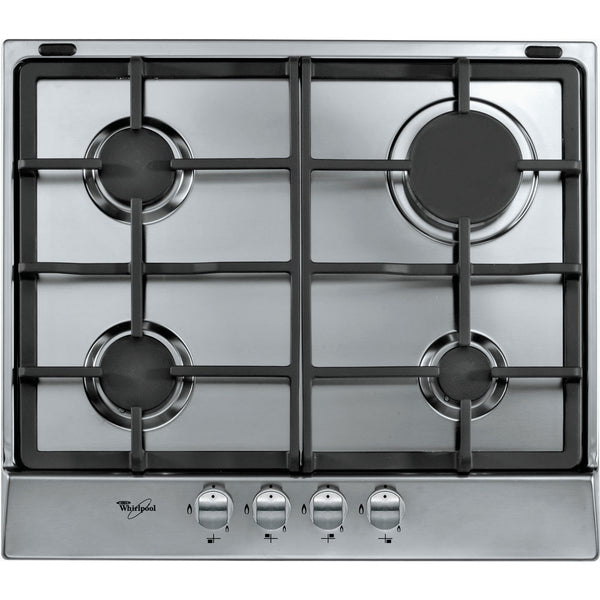 WHIRLPOOL AKR 361 IX 60cm Stainless steel Gas Kitchen Hob