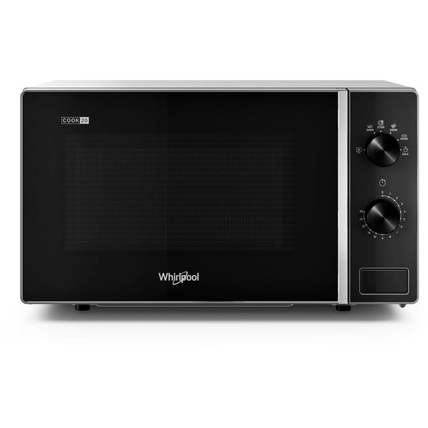 Whirlpool MWP 101 SB- Freestanding Microwave 700W, 20L, 6 power levels