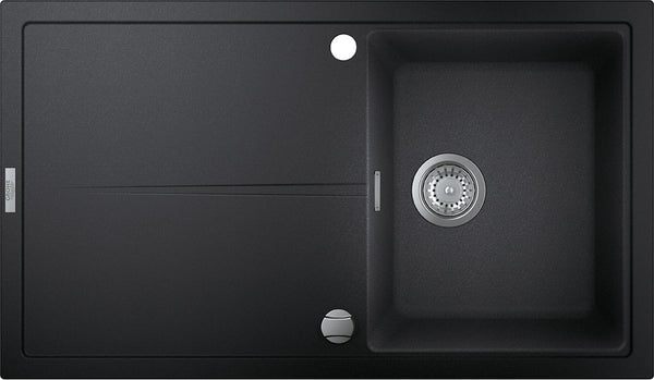 Grohe K400 -  31640AP0 Granite Black Composite 1.0 Bowl Kitchen Sink with remote controlled plug
