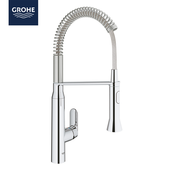 Grohe K7 -  31379000 Single-lever Kitchen tap in Chrome with Spray function