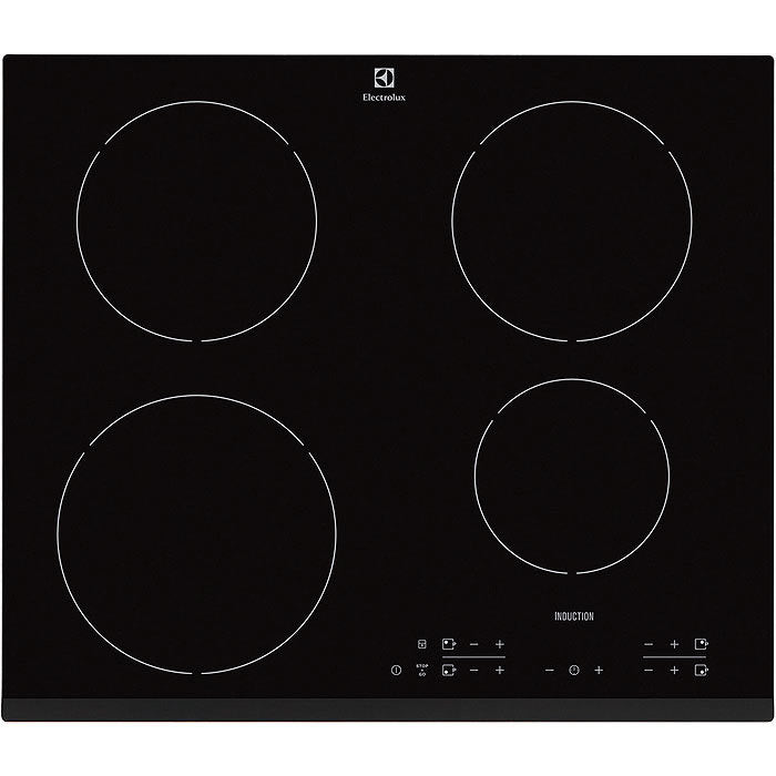 ELECTROLUX EHH3634F9K- Built-In Black Glass Kitchen INDUCTION Hob