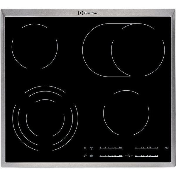 ELECTROLUX EHF46547XK- 60cm Bulit-in Electric Ceramic Kitchen Hob