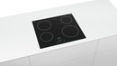 Bosch PKE611B17E- Built-in Black Frameless Electric Ceramic Kitchen Hob