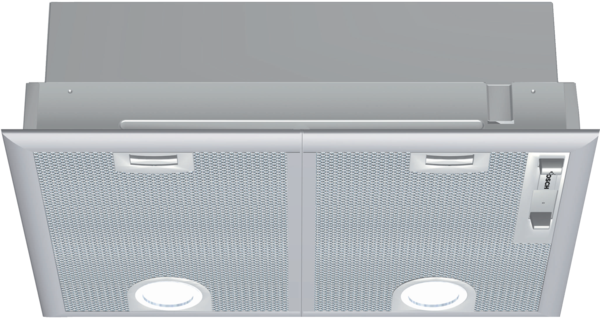 BOSCH DHL545S Silver Metallic Built-In COOKER HOOD