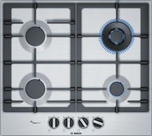 Load image into Gallery viewer, BOSCH PCH6A5B90- 60cm Built-in Stainless steel Kitchen Gas Hob