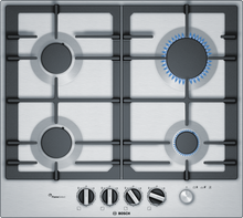 Load image into Gallery viewer, BOSCH PCP6A5M90- 60 cm, Gas hob with integrated controls, Stainless steel