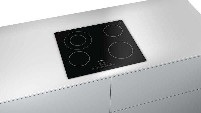 BOSCH PKF651FP1E- 60cm Bulit-in Electric Black Ceramic Kitchen Hob