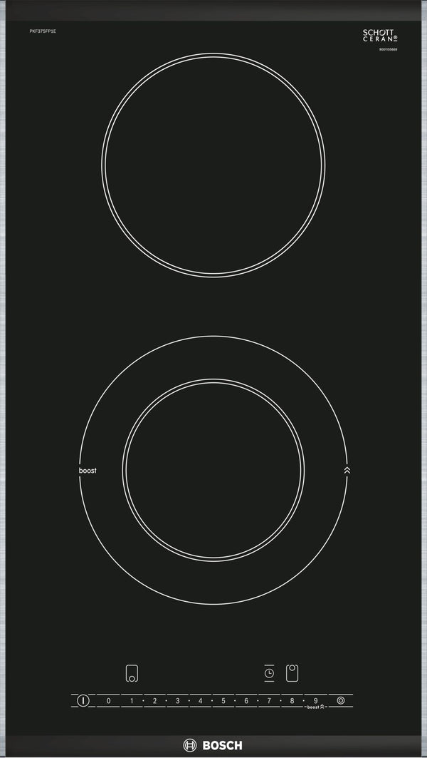 BOSCH PKF375FP1E- 30cm Bulit-in Electric Ceramic Domino Kitchen Hob