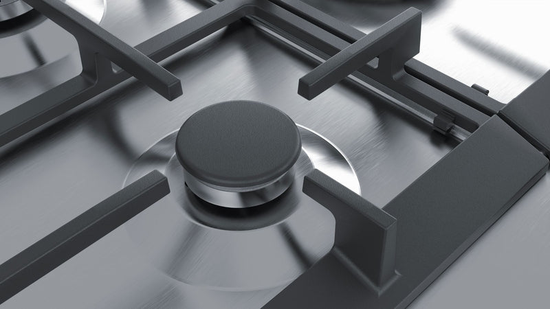 SIEMENS EC7A5RB90 Built-in Stainless Steel Kitchen Gas Hob WOK Burner