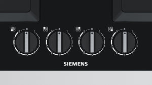 SIEMENS EP6A6PB20 60cm Bulit-in Gas Kitchen Hob Black Glass