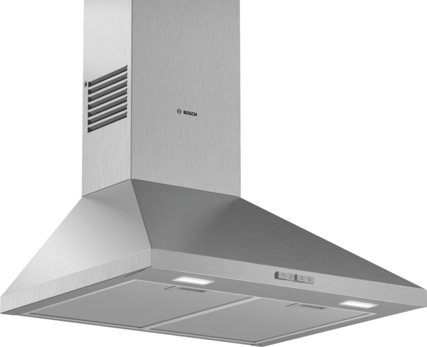 BOSCH DWP64BC50 Brushed Steel wall mounted CHIMNEY HOOD