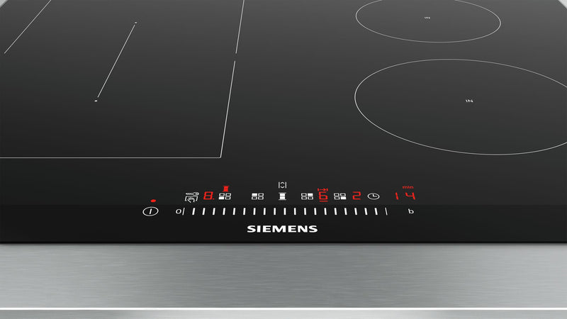SIEMENS  ED675FSB5E Bulit-in Induction Kitchen Hob Black Glass