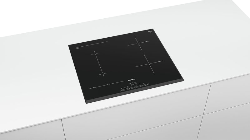 BOSCH PVS651FC5E- 60cm Built in Black Kitchen Induction Hob Frameless Design New