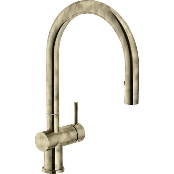 FRANKE ACTIVE NEO SM Old gold - Pull-Out Spray Kitchen Tap